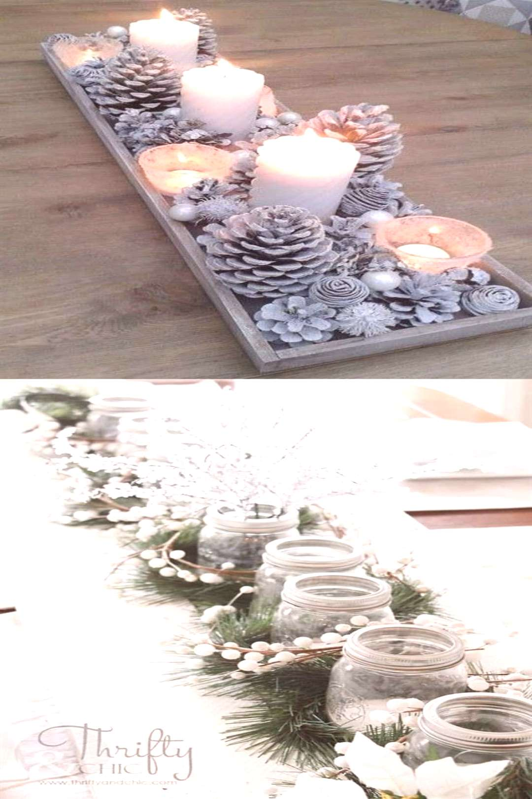 27 Gorgeous DIY Thanksgiving & Christmas Table Decorations & Centerpieces 27 gorgeous & easy DIY Th