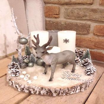 -   ? Christmas centerpiece – Deco DIY ⛄ Inspiration of decorations and d … Decorations
