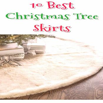 10 Stylish and elegant Christmas Tree Skirts That Suit All Decor Styles and Budgets!