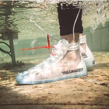 2018 Off White x Converse Chuck Taylor 1970S Sneakers Womens Mens White Blue Sale