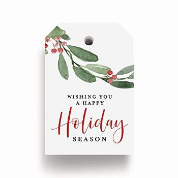 Bliss Collections Holiday Season Gift and Favor Tags, Pack