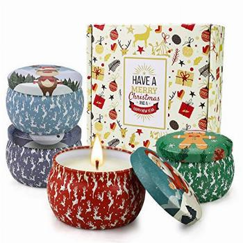 Christmas Candles for Home Scented Gift for Women