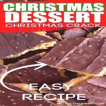 Christmas Crack If you are looking for the most AMAZING Holiday treat then you HAVE to make this Ch