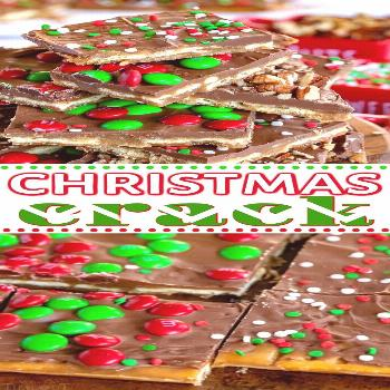 Christmas Crack is the easiest treat you'll make this holiday season! With just a handful of ingred