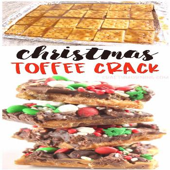 Christmas Crack Recipe Christmas crack recipe using saltine crackers to make a toffee treat. There'