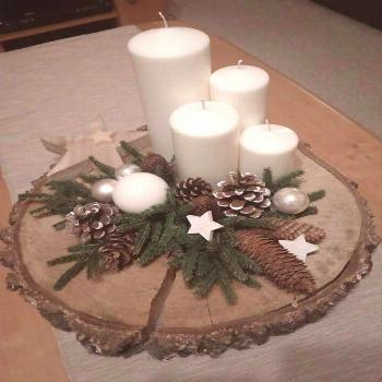 Christmas decoration wooden disc decoration Christmas decoration -  Christmas Christmas  -