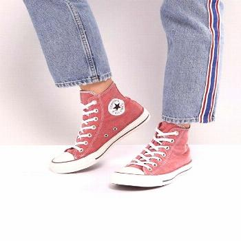 Converse - Chuck Taylor All Star - Baskets montantes - Rouge délavé