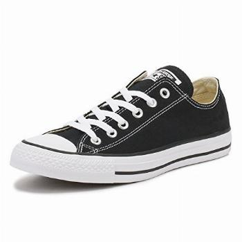 Converse Chuck Taylor All Star Low Top, Black/White, 9