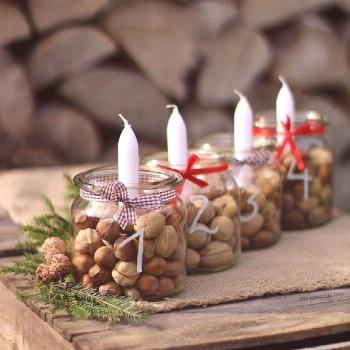 Easy christmas diy -  Diy christmas ornaments easy -  Christmas table centerpieces -  Simple christ