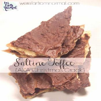 Easy & Delicious Saltine Toffee {AKA Christmas Crack}