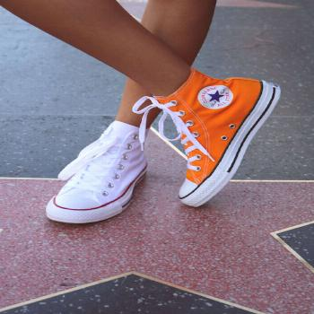 Mix and match. The Chuck Taylor All Star.