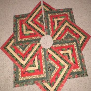 Patterns For Quilted Christmas Tree Skirts 17 best images about christmas tree skirt on pinterest c