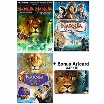 The Chronicles of Narnia: Complete Movie Trilogy DVD