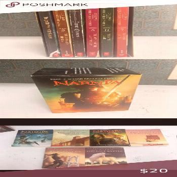 ✨The Chronicles of Narnia lot of 6 books Good condition, please see photos Other