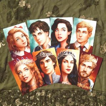 The Chronicles of Narnia - Pevensie Portrait Postcards
