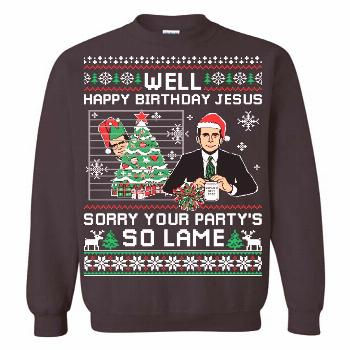 The Office Ugly Christmas Sweater The Office Ugly Christmas Sweater Show your sense of humor by wea