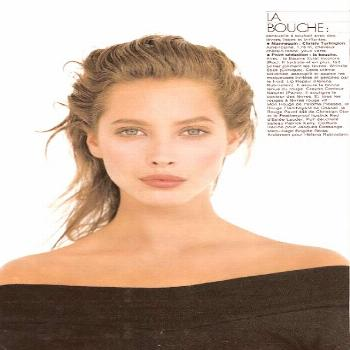 The Young and Beautiful Christy Turlington