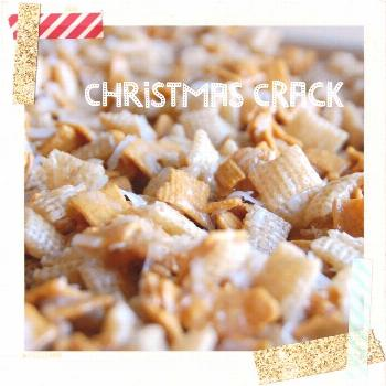 This Christmas crack recipe is a crowd pleaser and a favorite of everyone I know! Using Chex mix an