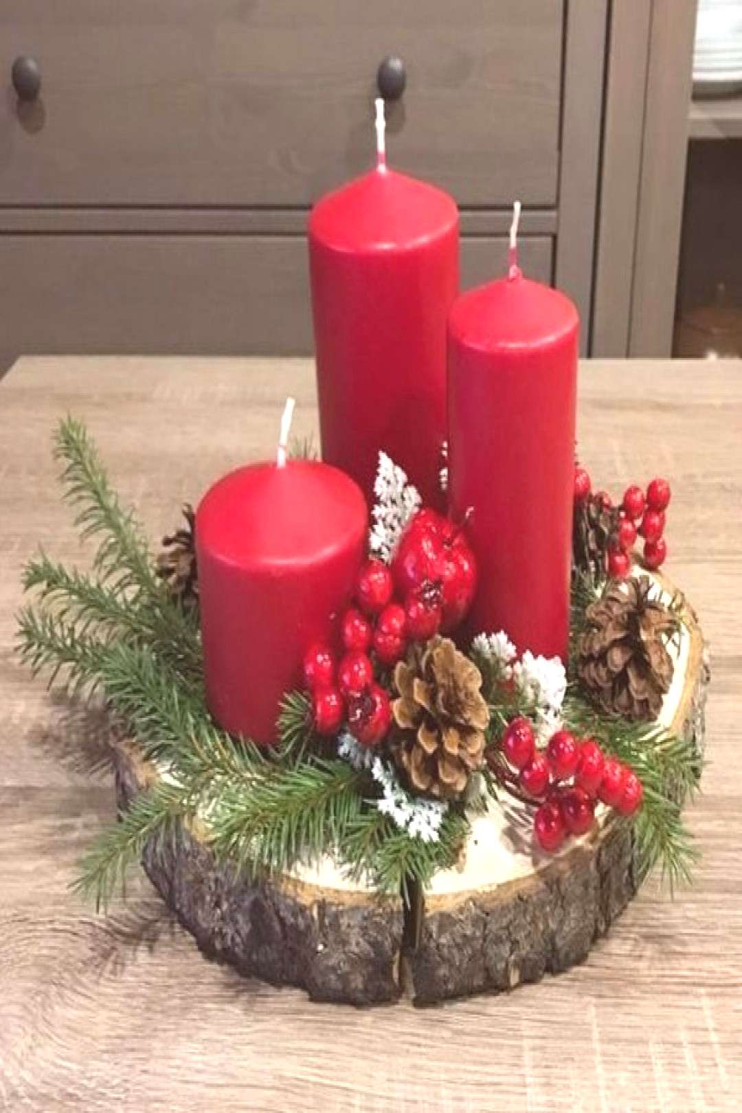 72 Trend Simple Rustic Winter Christmas Centerpiece Simple And Popular Christmas Decorations, Table