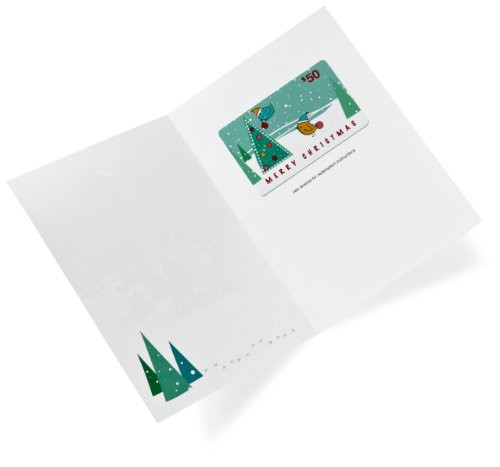 Amazon.com $50 Gift Card in a Greeting Card (Christmas Tree