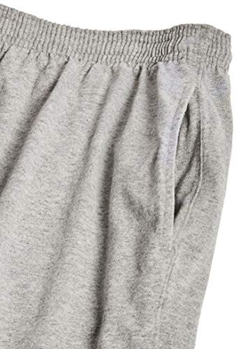 Champion Mens Jersey Short With Pockets, Oxford Grey,