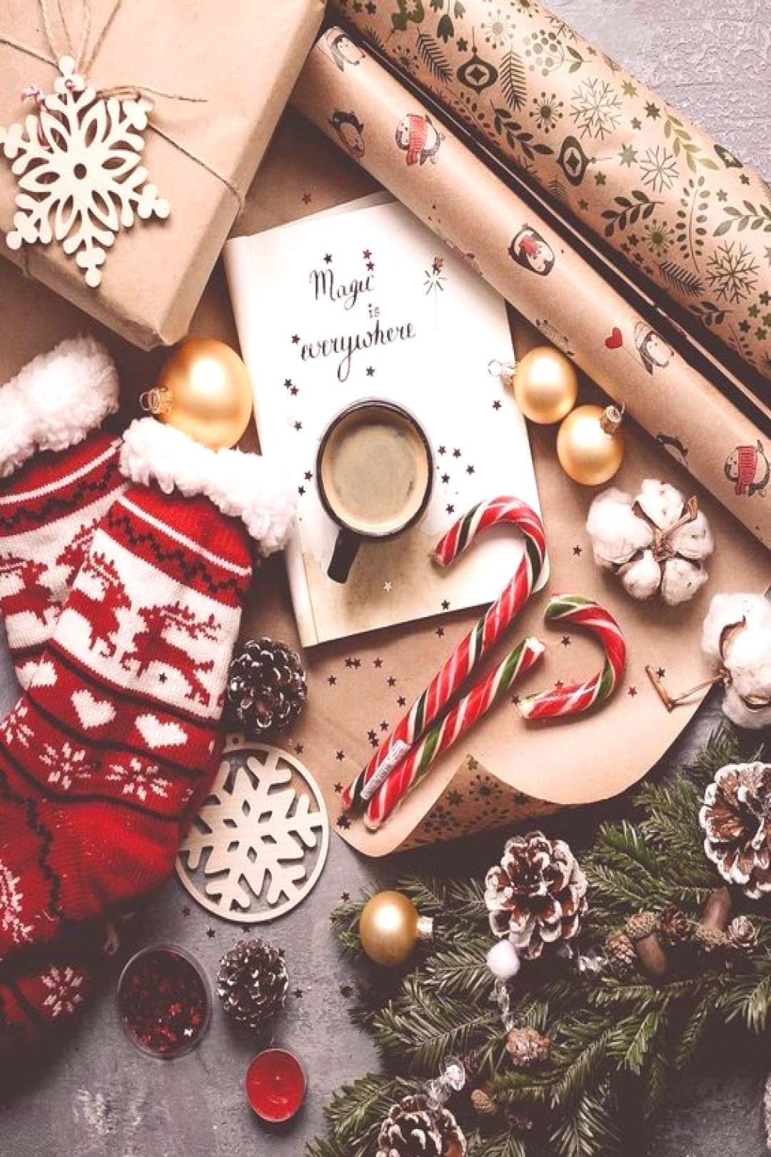 Christmas Aesthetic for Home – Cozy Xmas Decorations Ideas. Looking for inspiration and a great m