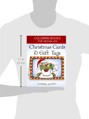 Christmas Cards amp Gift Tags Coloring Books for Grownups,