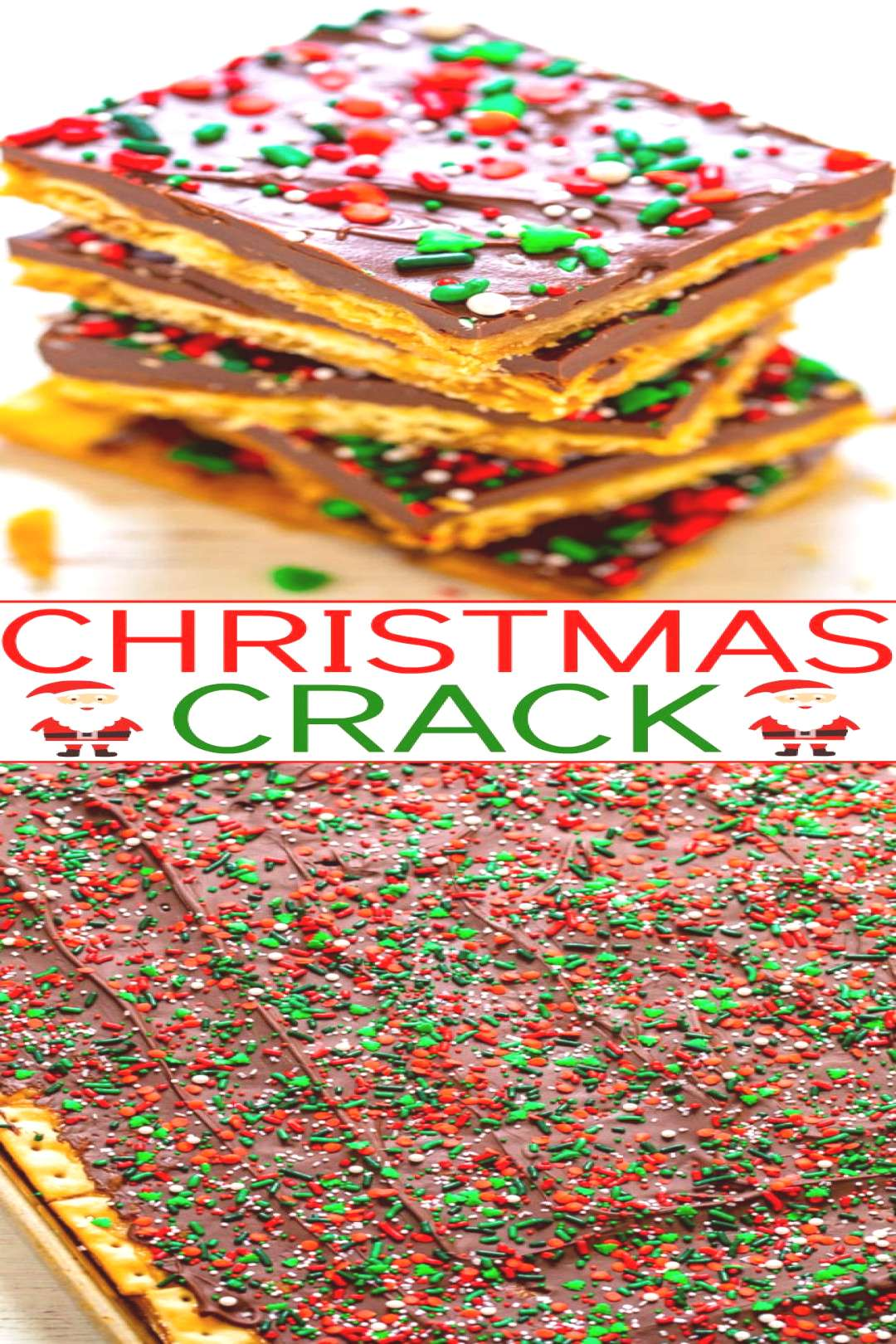 Christmas Crack - A highly addictive, salty-sweet, crunchy, EASY Christmas treat thats IRRESISTIBL