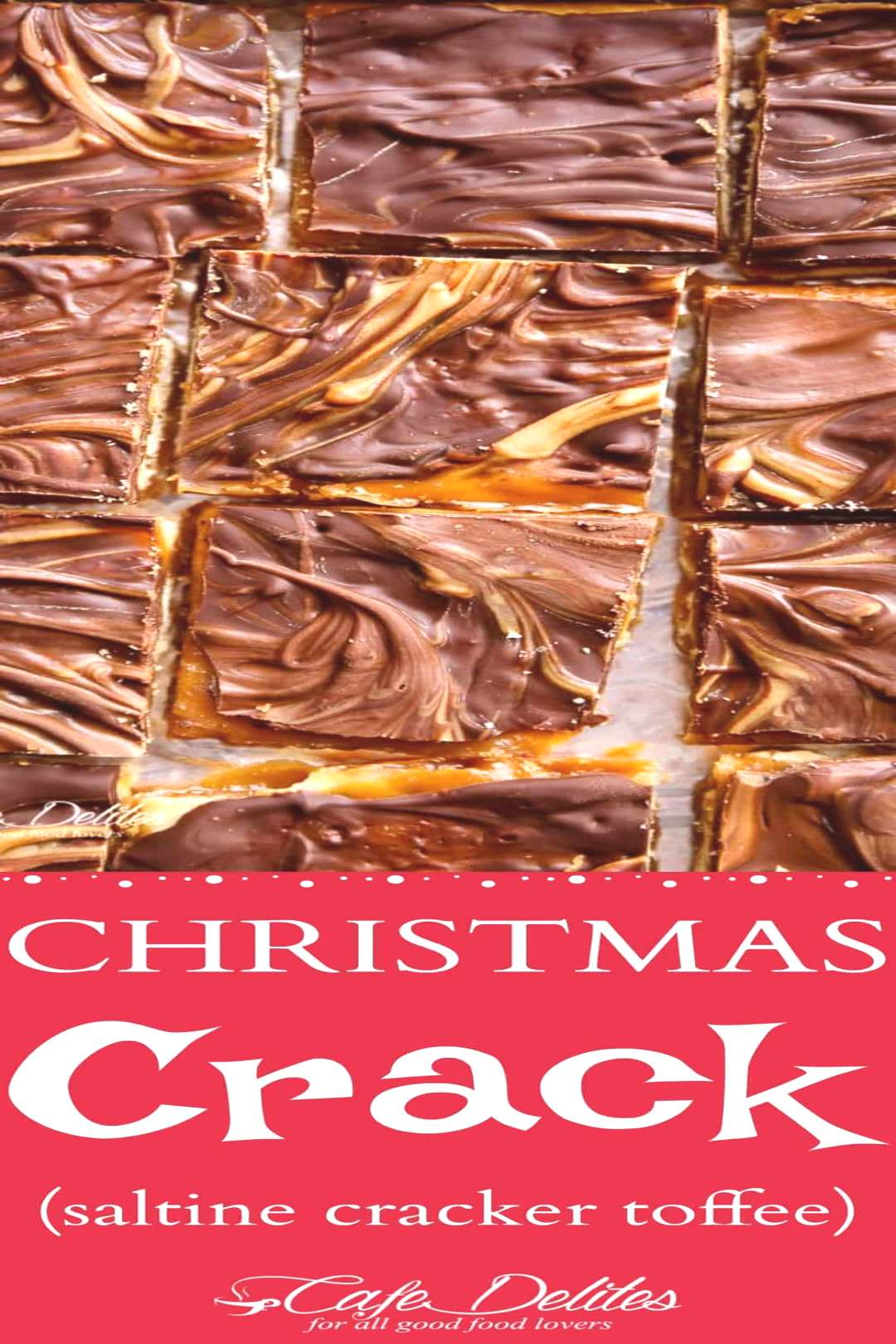 Christmas Crack (Saltine Cracker Toffee)