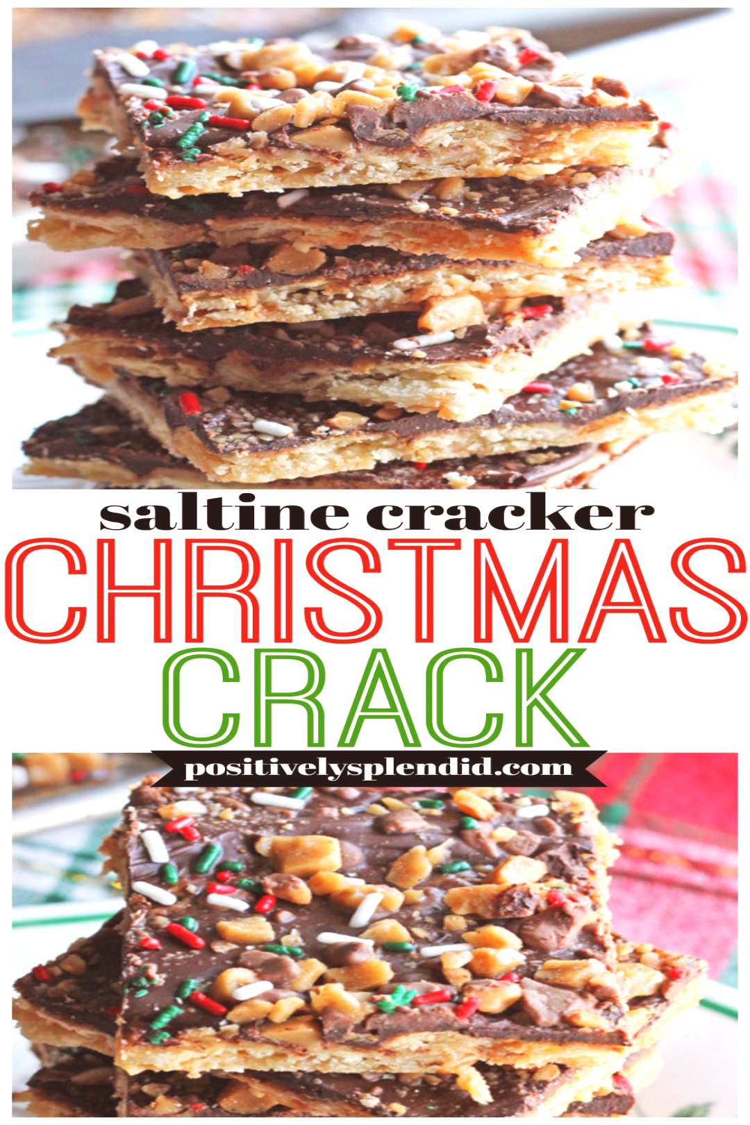 Christmas Crack with Saltine Crackers