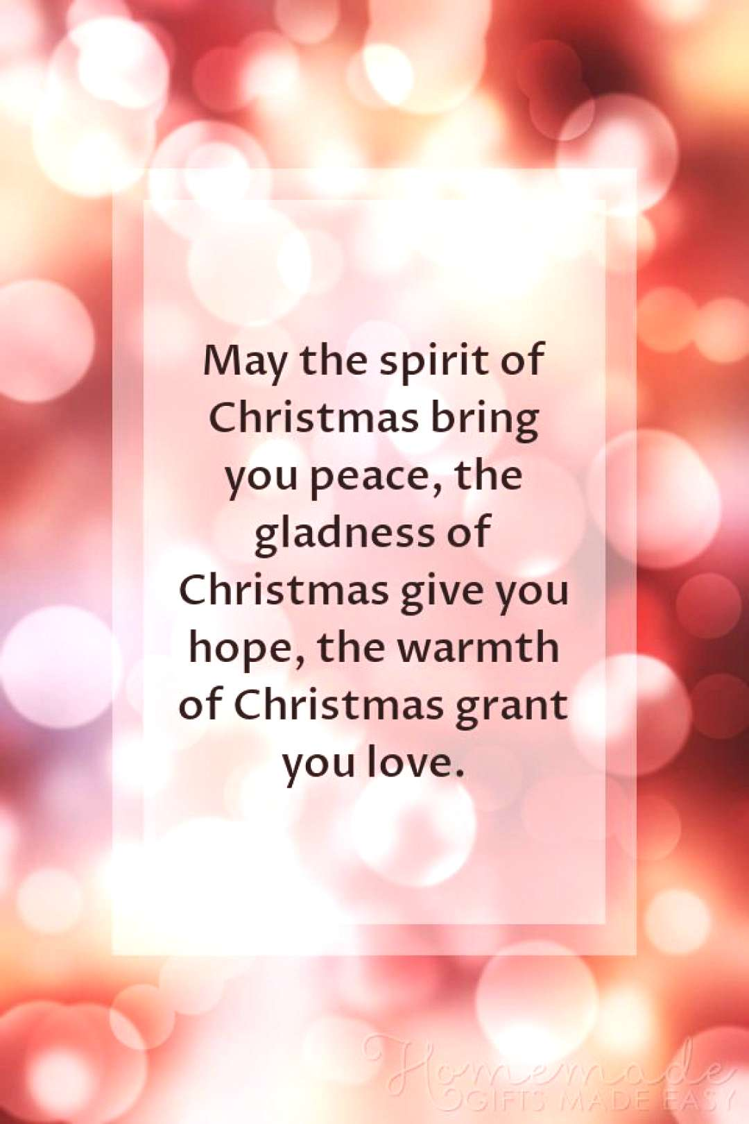 Christmas Quotes | May the spirit of Christmas bring you peace, the gladness of Christmas give you