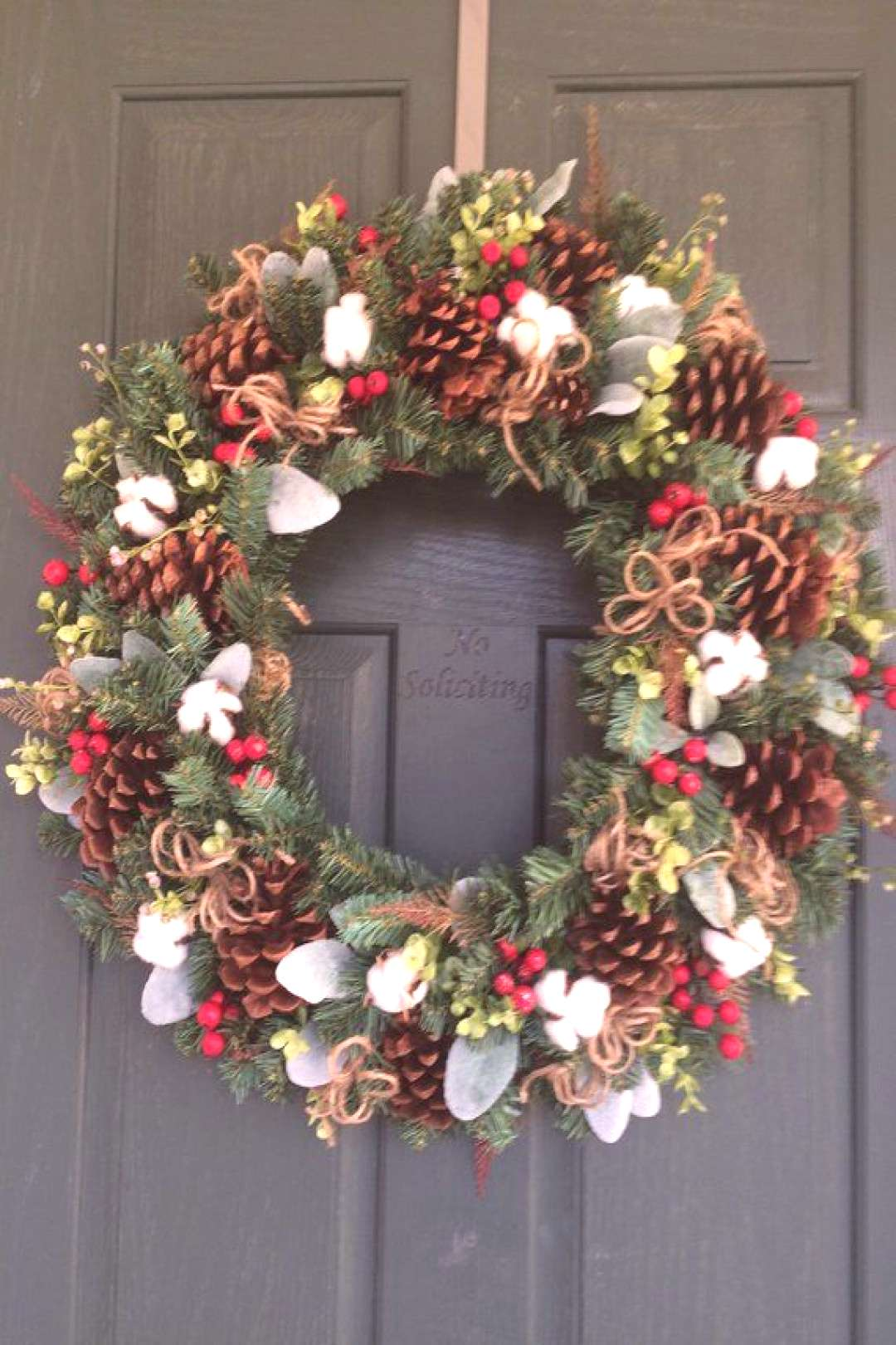 Christmas wreath, Christmas wreaths for front door, Christmas wreath, Christmas door wreath, Farmho