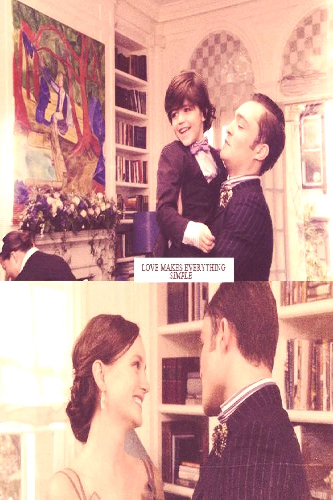 Chuck, Blair and Henry Bass favorite part of the finale. Made me cry of happiness