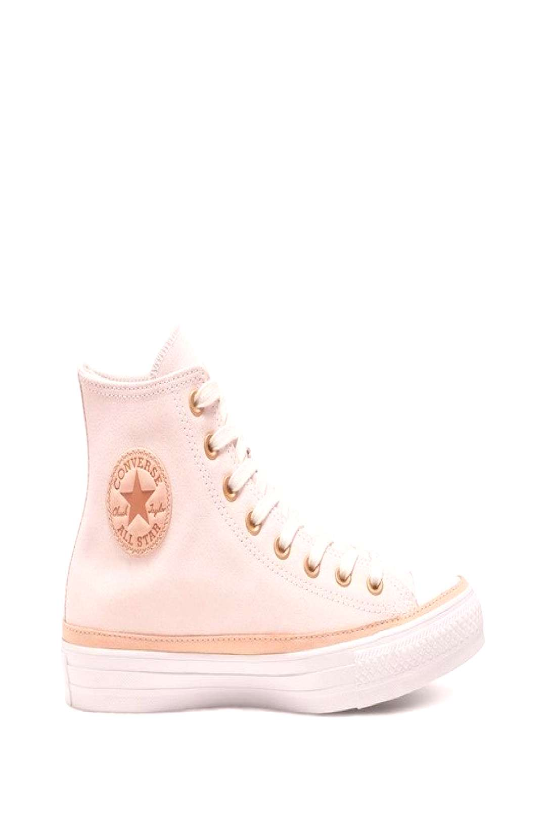 Chuck taylor all star suede hi beige Converse | La Redoute