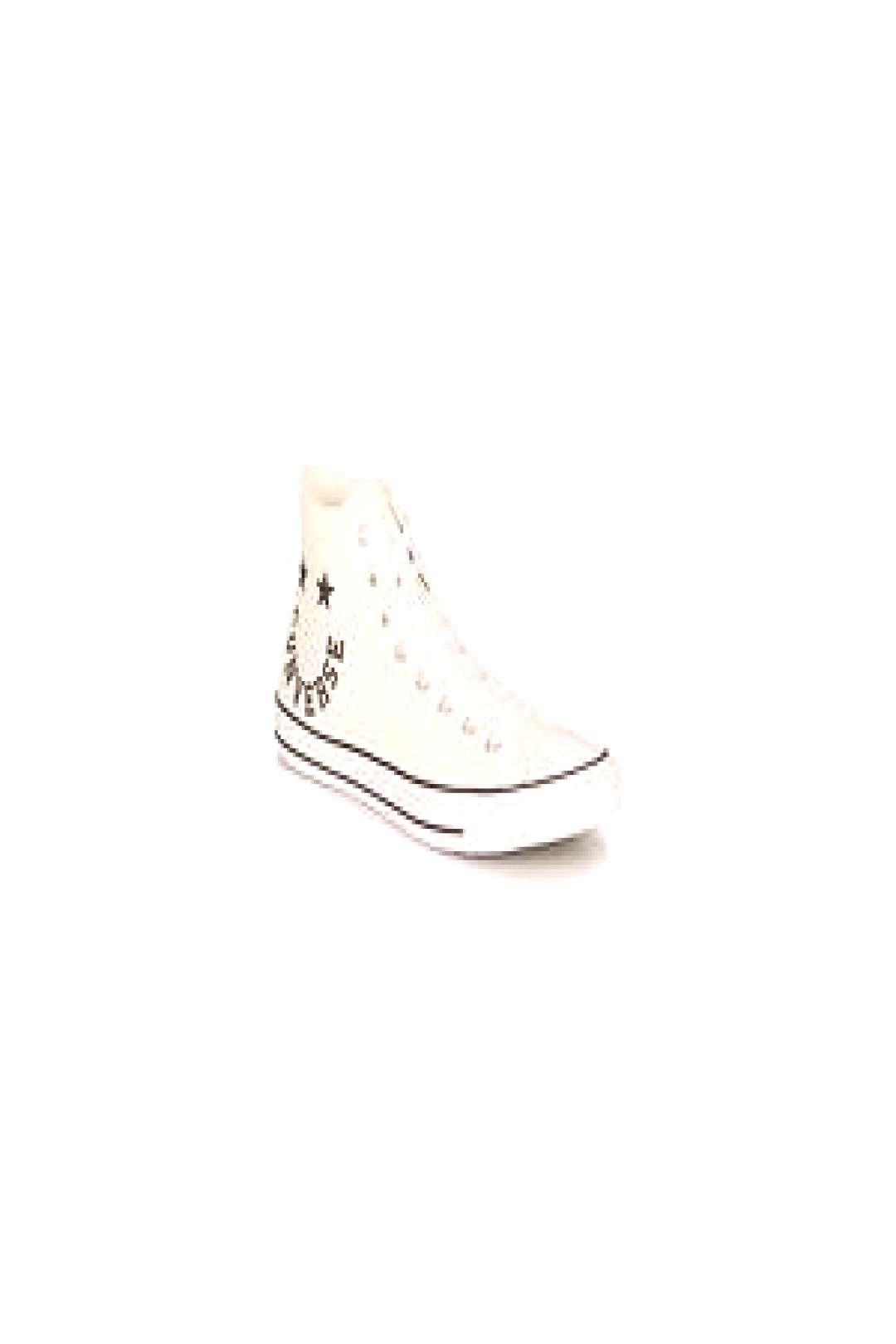 Converse Chuck Taylor All Star Chuck Taylor Cheerful womens Shoes (High-top Trainers) in White