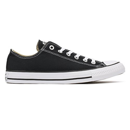 Converse Chuck Taylor All Star Low Top, Black/White, 11
