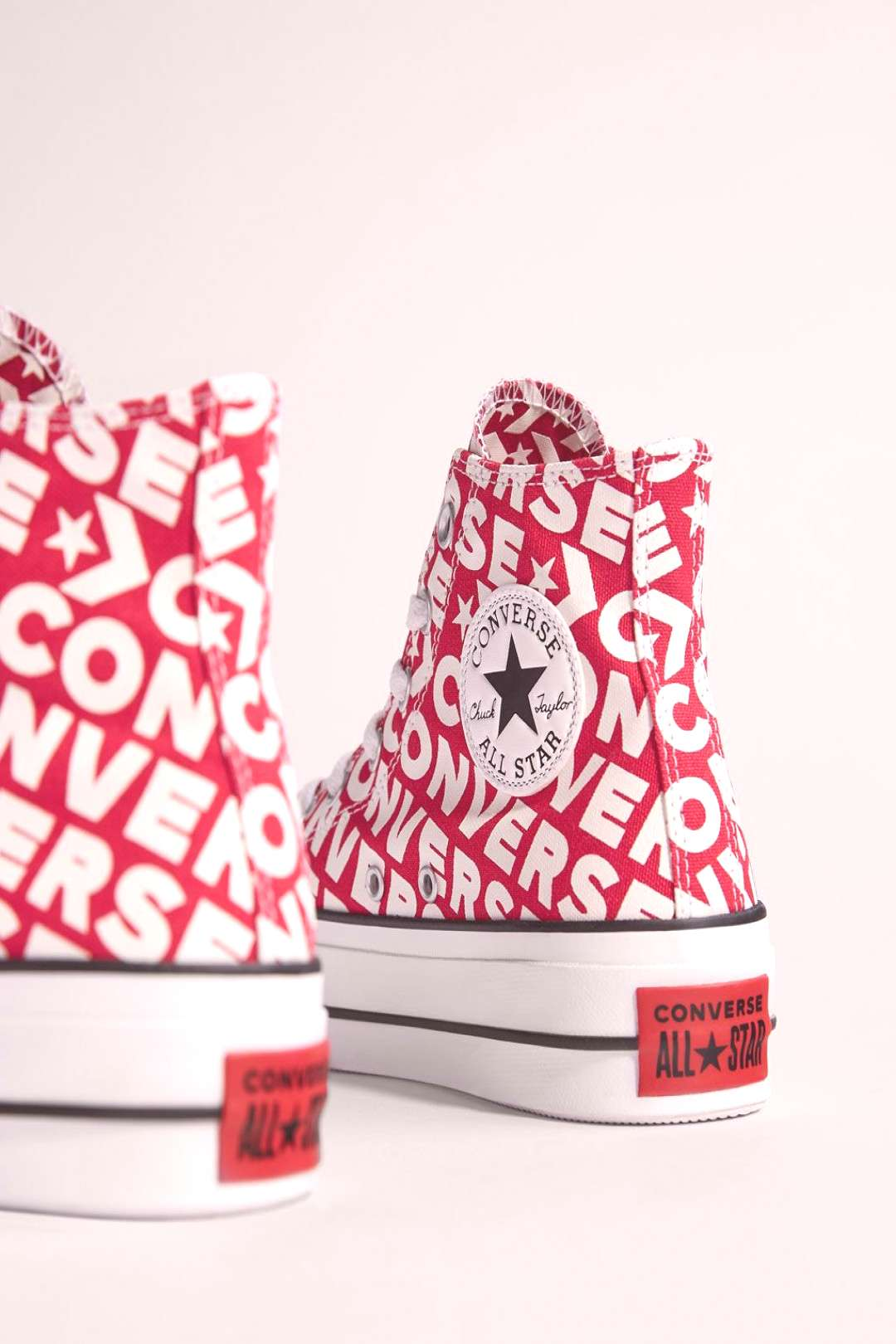 Converse platform high-top trainers Exclusive for Bershka
