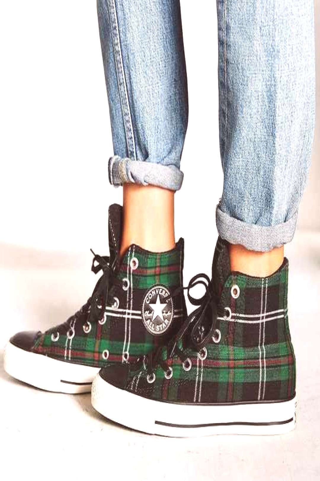 Converse Tartan Chuck Taylors, $65 // 50 Jazzy Pairs Of Sneakers Under $100