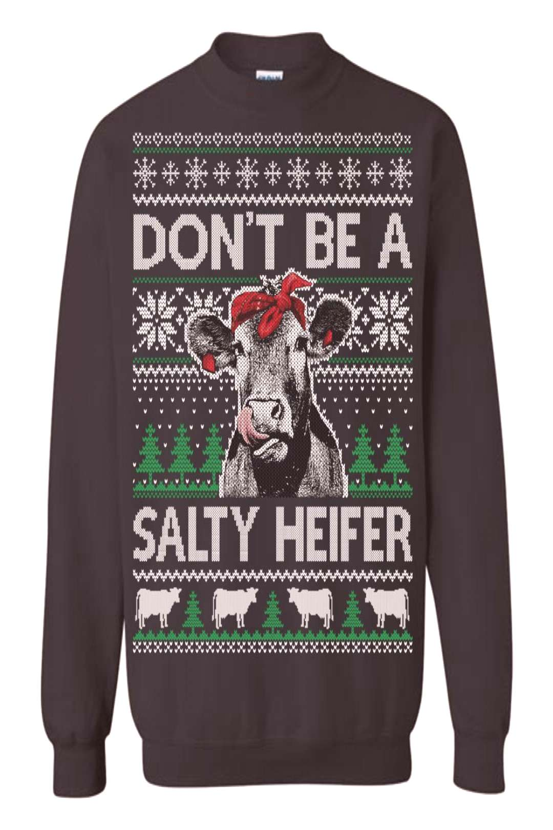 Cow Funny Ugly Christmas Sweater