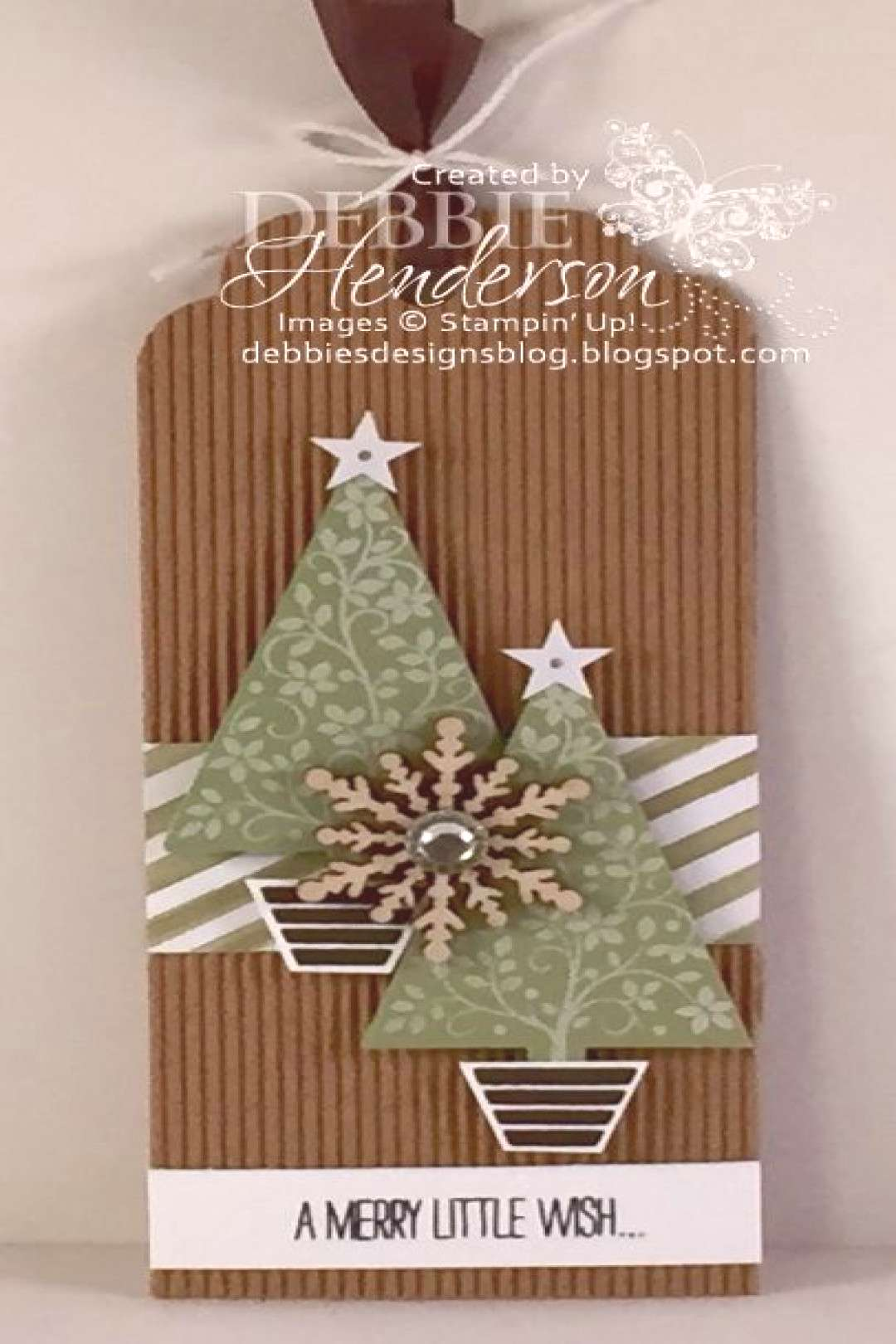 December 5, 2015 Debbie's Designs: 12 Days of Christmas Tags Day 5! Festival Of…