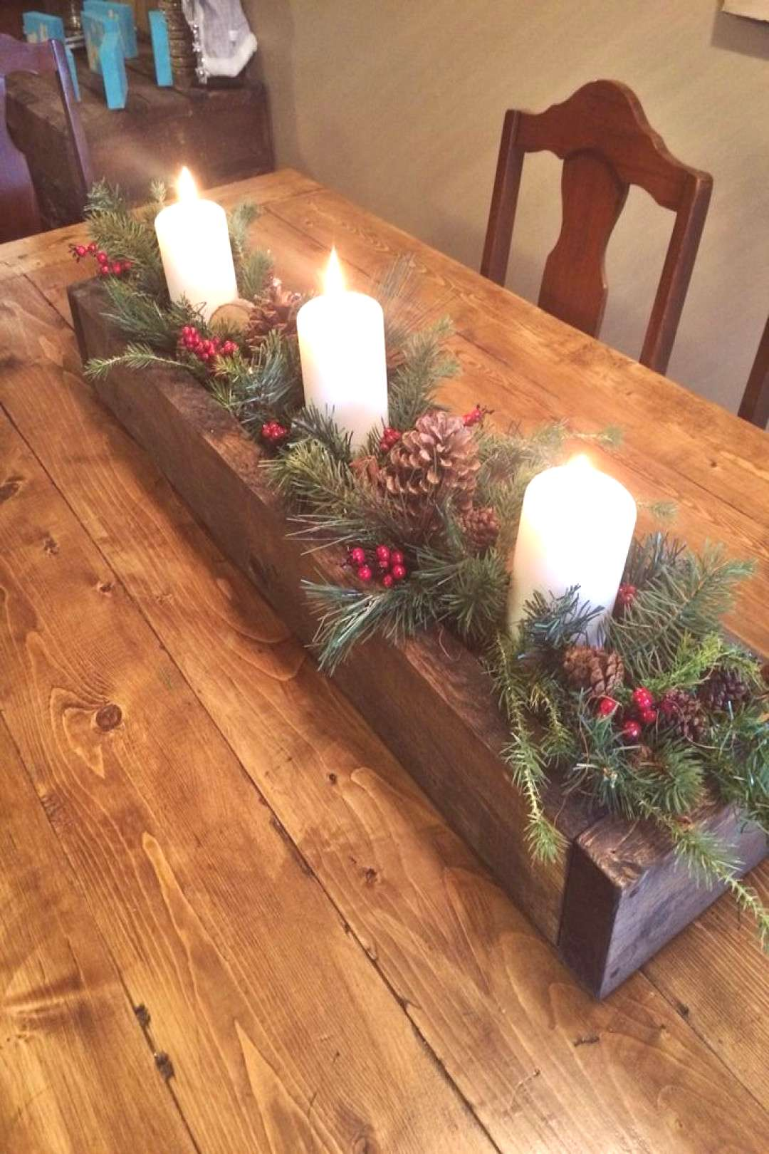 Dekoration Weihnachten - Cool 53 Top Christmas Candle Decoration for Your Inspire /...