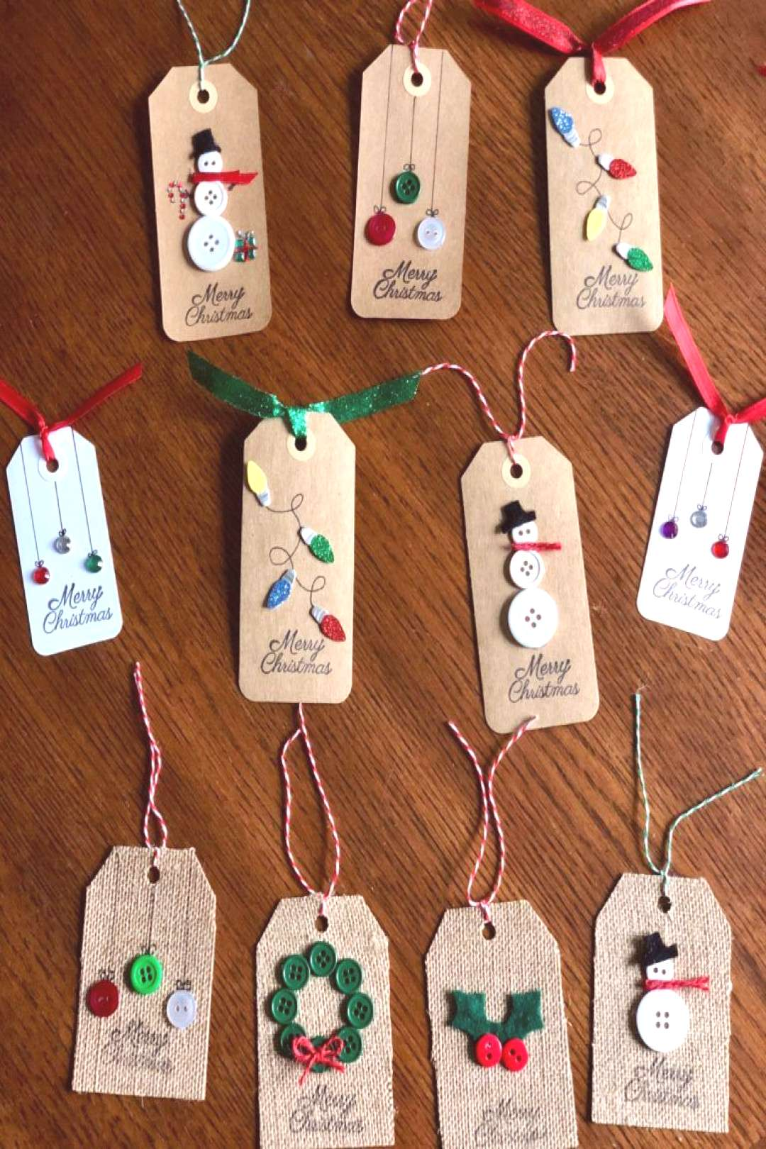 DIY Christmas Gift Tags DIY Christmas Gift Tags are fun and easy to make and the possibilities are