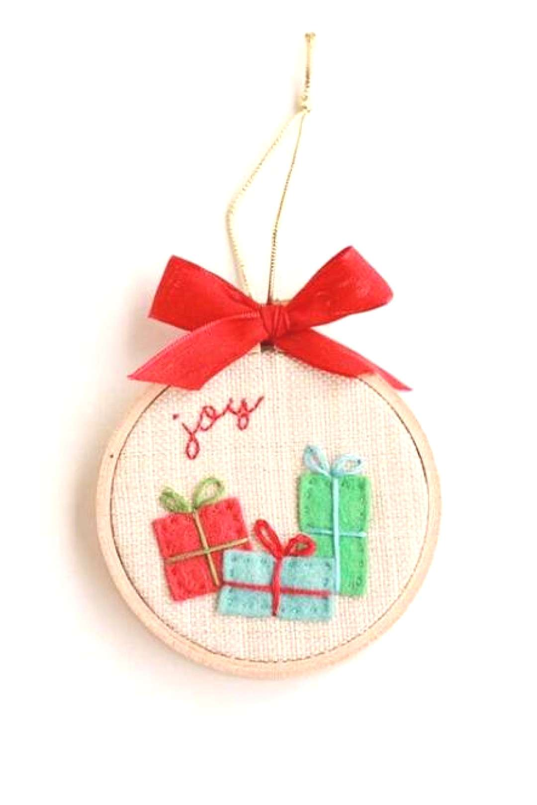 Diy christmas ornaments fabric embroidery hoops 49+ super Ideas Diy christmas ornaments fabric embr