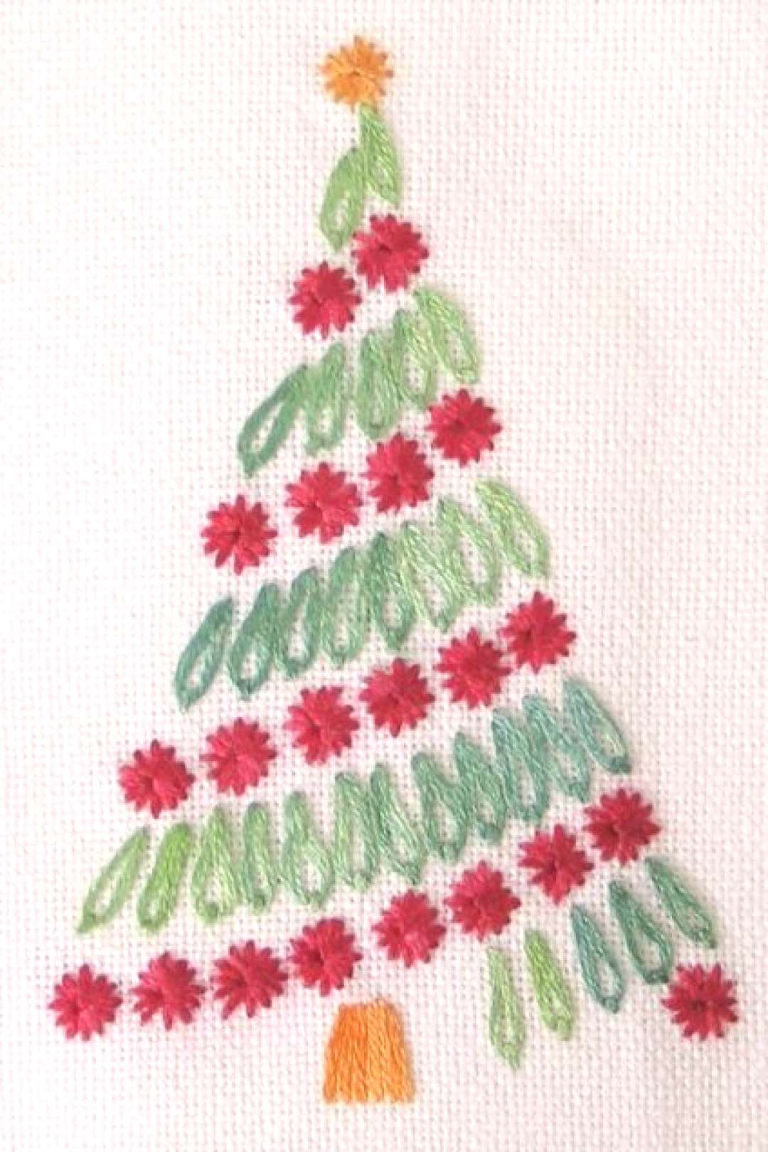 Embroidery Patterns Hand Christmas Trees 63+ Trendy Ideas