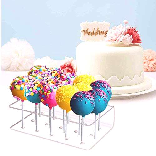 Fox Claw Cake Pop Stand Lollipop Holder 15 Hole Clear