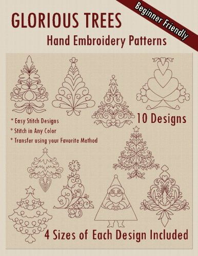 Glorious Trees Hand Embroidery Patterns