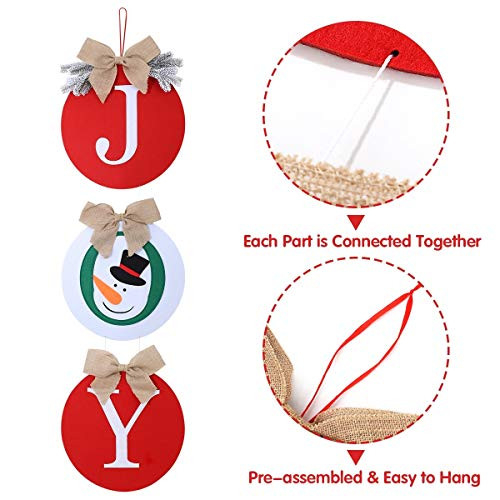 HXS Christmas Decorations Outdoor Christmas Wreaths