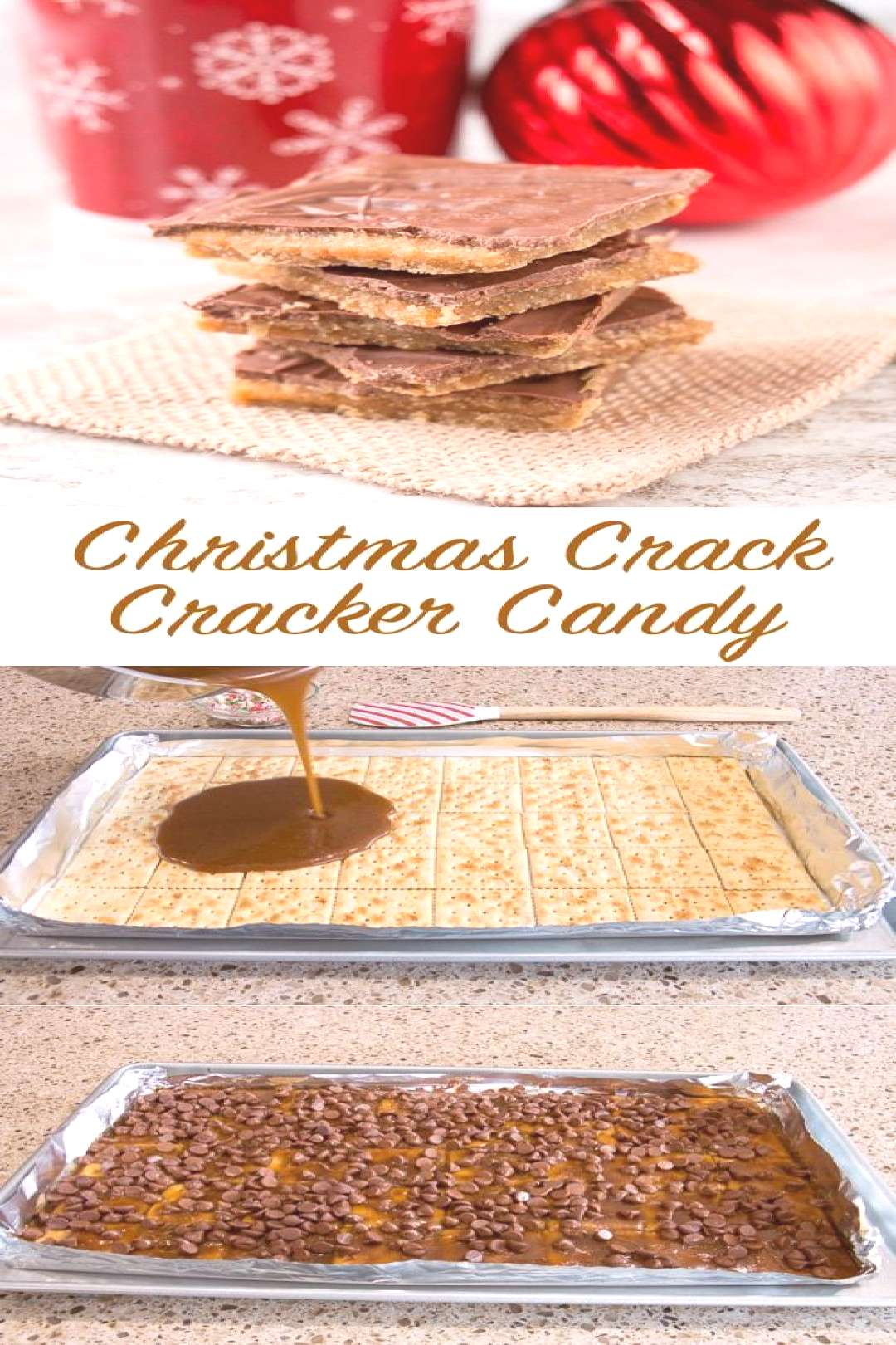 Just 4 ingredients to make this popular and highly addictive Christmas candy.