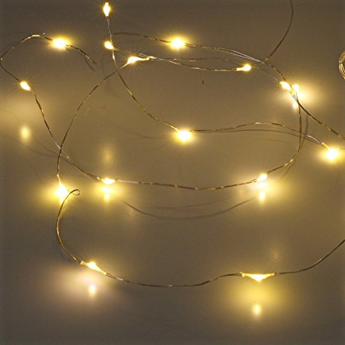 Led String Lights, Sanniu Mini Battery Powered Copper Wire