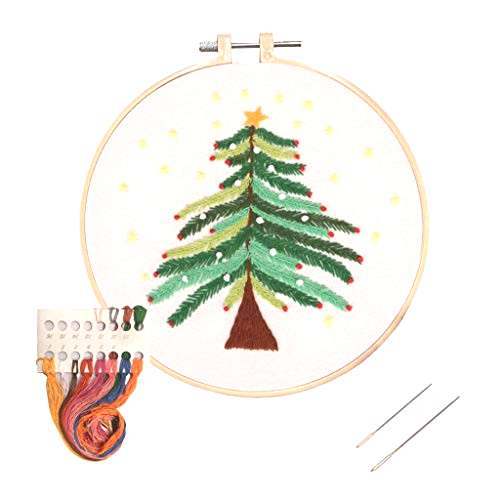 Louise Maelys Christmas Embroidery Kit for Beginners